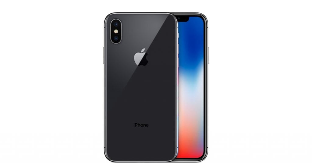 iPhone X gray select
