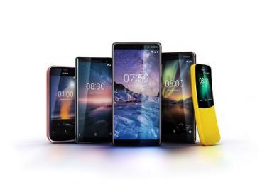 Nokia introduceert vier nieuwe smartphones
