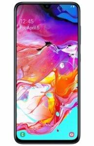 Product: Samsung Galaxy A70
