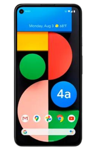 Product: Google Pixel 4a (5G)